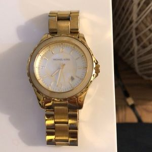 Michael Kors Gold Opal Watch- 5260